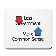 Less Government Mousepad