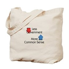 Less Government Tote Bag