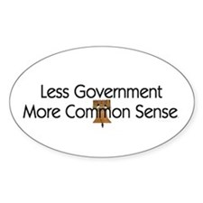 Less Government Decal