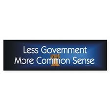 Less Government Bumper Sticker