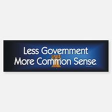 Less Government Car Car Sticker