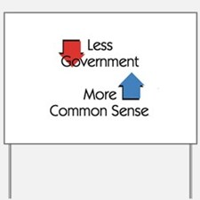 Less Government Yard Sign