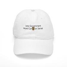 Less Government Baseball Cap