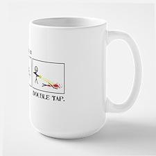 Double Tap Large Mug