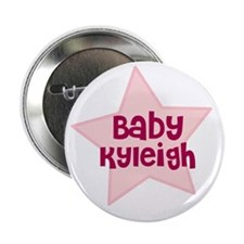 """Baby Kyleigh 2.25"""" Button (10 pack)"""
