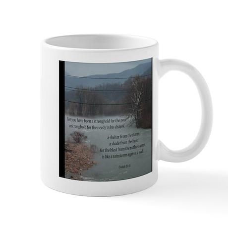 Isaiah 25:4 Mug