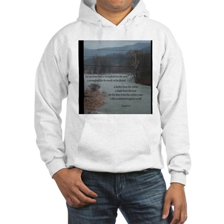 Isaiah 25:4 Hooded Sweatshirt