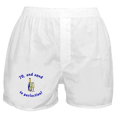 Vintage 70th Birthday Boxer Shorts