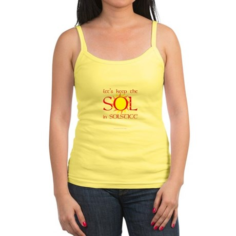 Keep the Sol in Solstice Jr. Spaghetti Tank