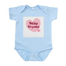 Baby Krystal Infant Creeper