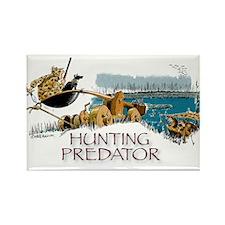 Hunting Predator Rectangle Magnet