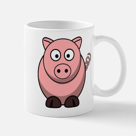 Cartoon Pig Mugs