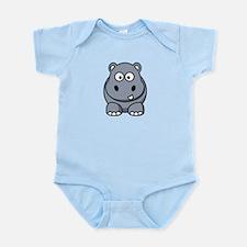 Funny Hippos Infant Bodysuit