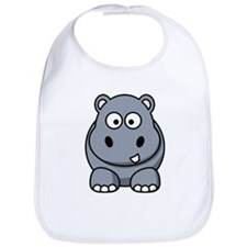 Cute Hippos Bib