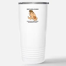 Republican Neanderthals Travel Mug