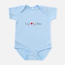 I Heart Sets Infant Bodysuit