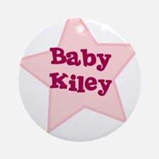 Baby Kiley Ornament (Round)