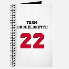 Team Bachelorette 17 Red Journal