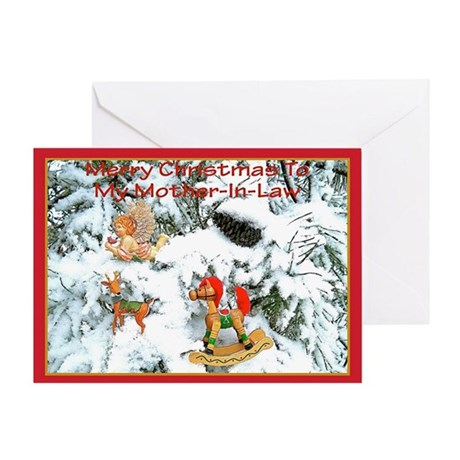 Christmas Greeting Card for Mother-In-Law
