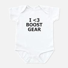 I <3 BOOST GEAR - Infant Bodysuit