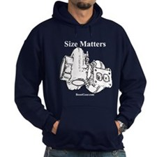 Size Matters - Turbocharger - Hoodie by BoostGear