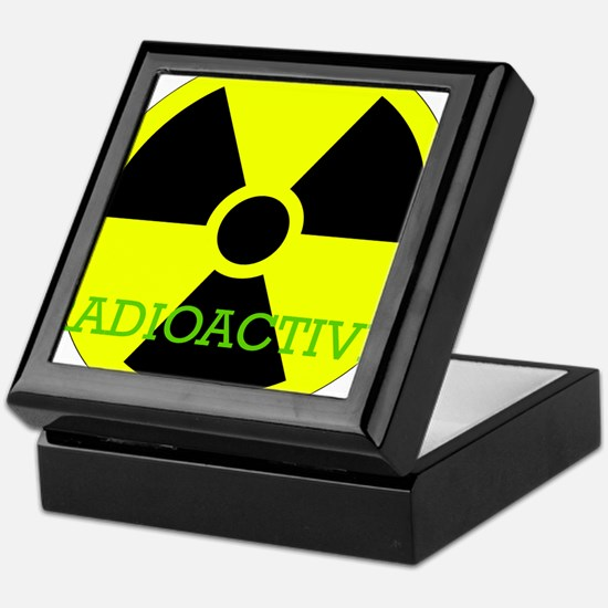Radioactive Keepsake Box