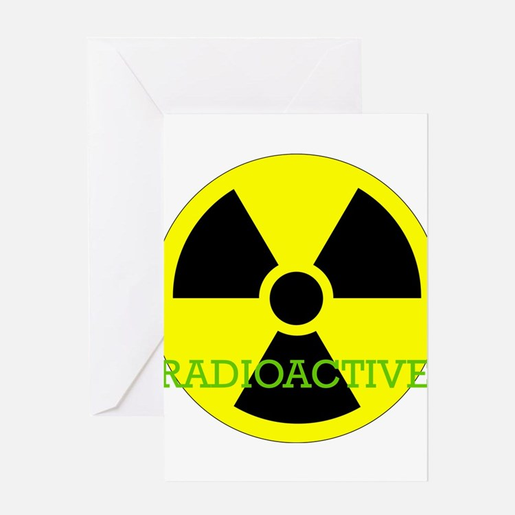 Radioactive Greeting Card