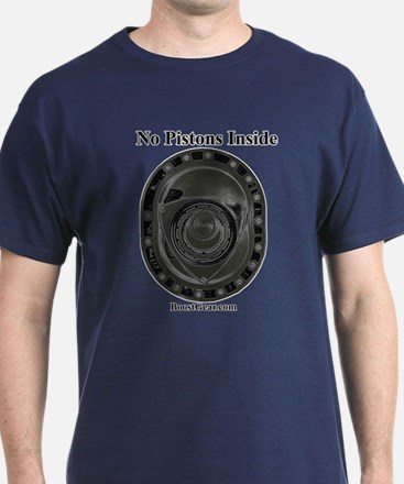 No Pistons Inside ( Rotary ) - T-Shirt
