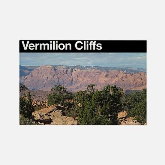 Vermilion Cliffs NM Rectangle Magnet