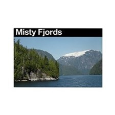Misty Fjords NM Rectangle Magnet