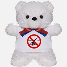 Danger No Diving Teddy Bear