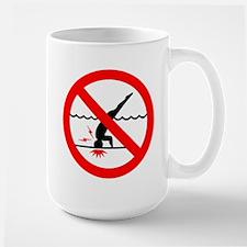 Danger No Diving Mug