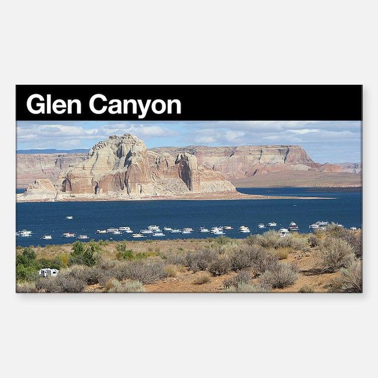 Glen Canyon NRA Rectangle Decal