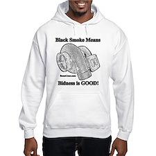 Black Smoke Means Bidness - Hoodie