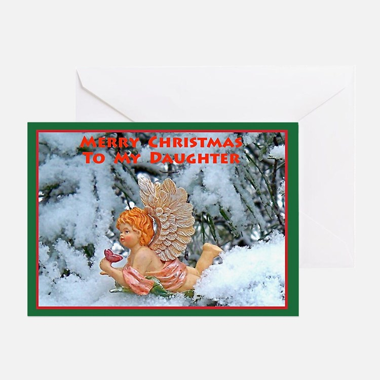 Christmas Greeting Card for My Daughter