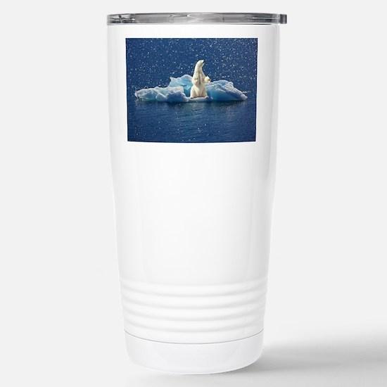Unique Big blue Travel Mug