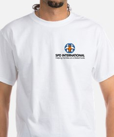 SPD International Logo_Vertical_Color T-Shirt
