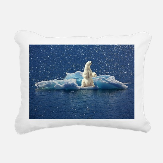 Cute Polar bear Rectangular Canvas Pillow