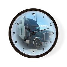 Cute Truck driver Wall Clock