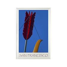 San Francisco Travel Magnet