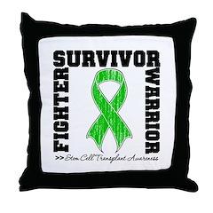 SCTSurvivorFighterWarrior Throw Pillow