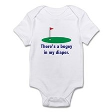 Bogey in my Diaper Infant Bodysuit