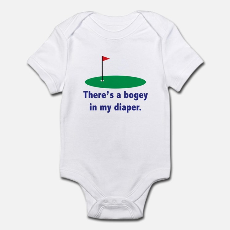 Bogey in my Diaper Infant Bodysuit