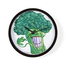Unique Fruits vegetables Wall Clock