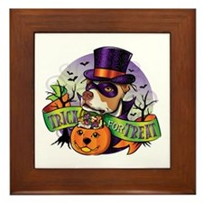 Trick for Treat Framed Tile