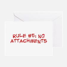 Rule #5 Greeting Card