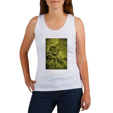 Odin & Fenris - Yellow Women's Tank Top