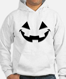 Smiley Halloween Black wn Hoodie