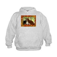 Orange Tabby Cats and Kittens Hoodie