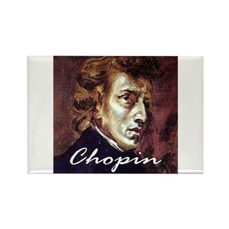Chopin Rectangle Magnet